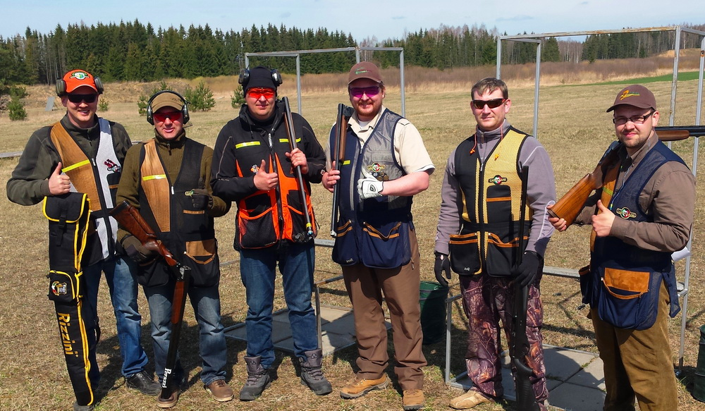 Latvia shooting masters